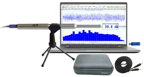 VT RTA-168, a PC based USB Real Time Anayzer, Sound Level Meter, Distortion Analyzer